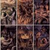 Карты Таро Черный гримуар (Некрономикон)1