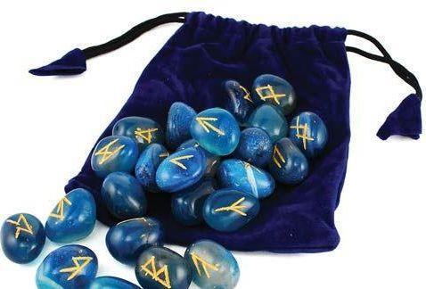 Голубой оникс. Руны из камня купить в Украине - Киеве, Одессе, Харькове, Днепропетровске