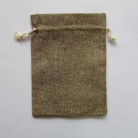 Мешочек для таро купить Украина. Джут кофейный