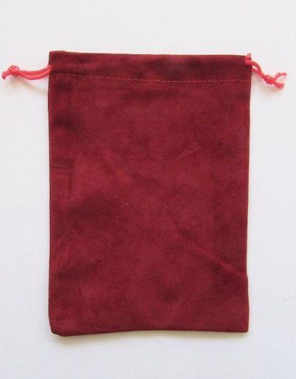 Бархатный мешочек для таро купить Украина. Красный