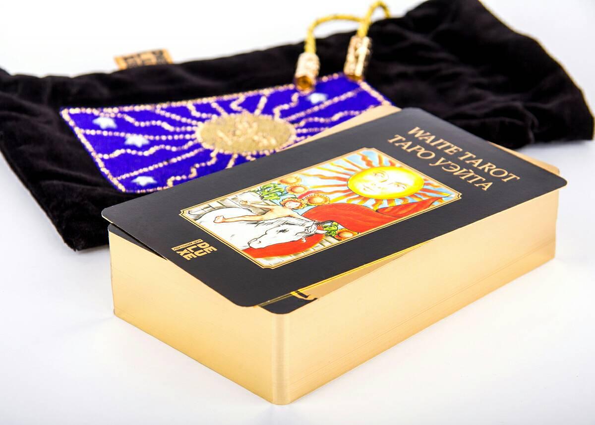 Золотое таро Райдера Уэйта купить в Украине