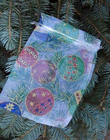 Мешочек подарочный новогодний купить Украина