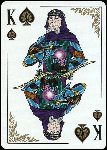 Игральные сувенирные карты Star Kings. Стар Кинг карты белые